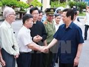 Premier se reúne con votantes de Hai Phong