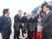 Líder partidista de Vietnam arriba a Estados Unidos