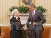 Señalan fruto de visita a EE.UU. del líder partidista vietnamita