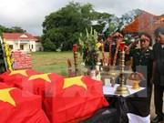 Vietnam y Cambodia cooperan en repatriación de restos combatientes