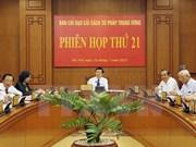 Presidente instruye reforma de sistema judicial