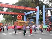 Gran desfile artístico en aniversario 70 de Fiesta Nacional