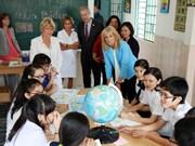 Segunda dama de Estados Unidos visita Ciudad Ho Chi Minh