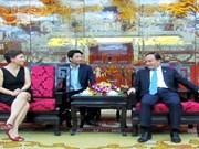 Impulsan Hanoi y región italiana de Lacio cooperación comercial
