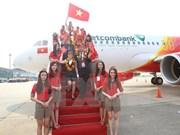 Gana Vietjet Air prestigioso premio de turismo para Asia-Pacífico