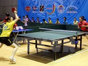 Inauguran torneo internacional de tenis de mesa en Vietnam