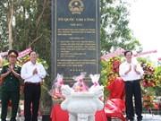 Asiste premier a erección de estela conmemorativa en Kien Giang