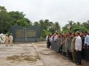 Homenajean a mártires vietnamitas caídos en Laos