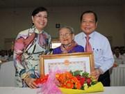 Honran a madres heroínas vietnamitas en Ciudad Ho Chi Minh