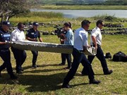 Malasia: pertrecho encontrado es probable de un Boeing 777