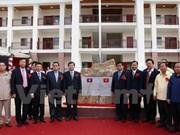 En Laos escuela preuniversitaria financiada por Vietnam