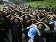 Miles de filipinos ejercitan defensas ante terremoto en Manila