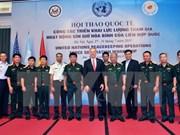 Clausuran seminario sobre misión de mantenimiento de paz de ONU