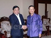 Vicepremier laosiano destaca visita de delegación vietnamita