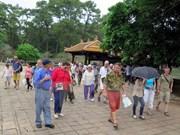 Ligero aumento de turistas foráneos a Thua Thien-Hue