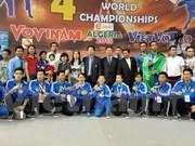 Vietnam se corona en cuarto Torneo Mundial de Vovinam