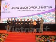 Comienza reunión de altos funcionarios de ASEAN en Kuala Lumpur