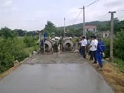 Avanza Hung Yen en construcción de nuevas zonas rurales