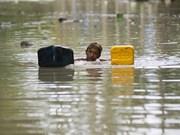 Complicada situación en países asiáticos por inundaciones