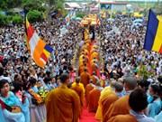 Miles de fieles asisten a Festival de Avalokitesvara