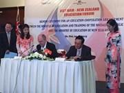 Vietnam y Nueva Zelanda aceleran cooperación educacional