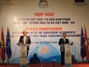 Vietnam y UE alcanzan básicamente Tratado de Libre Comercio bilateral