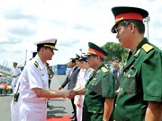 Buque de Armada sudcoreana arriba a Ciudad Ho Chi Minh