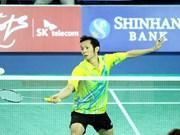 Badmintonistas vietnamitas competirán en campeonato mundial en Indone