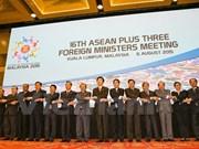 Potencian ASEAN y contrapartes vínculos multifacéticos