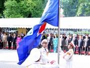 Cancillería vietnamita efectúa izamiento de bandera de ASEAN