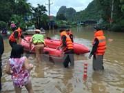 Raúl Castro expresa condolencias a Vietnam por inundaciones