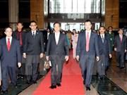 Premier vietnamita inicia visita a Malasia