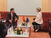 Vicepremier vietnamita se reúne con funcionarias de UE y Australia