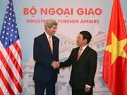 John Kerry apoya una mayor apertura del mercado para Vietnam