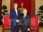 Líder partidista elogia contribución de Kerry a lazos Vietnam-EE.UU.