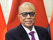 Inicia presidente de Bangladesh visita a Vietnam