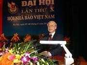 Urgen a prensa vietnamita consolidar confianza de población