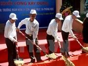 Arranca construcción de escuela preescolar en isla Ly Son