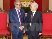 Dirigentes vietnamitas reciben al presidente bangladesí