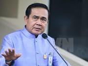 Premier tailandés completa lista de reforma de gabinete
