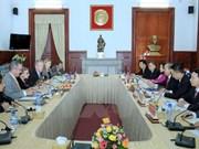 Consolidan Vietnam y EE.UU. cooperación judicial