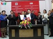 Radioemisoras de Laos y Vietnam firman acuerdo de cooperación