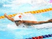 Conquista Anh Vien otra medalla en Copa Mundial de natación