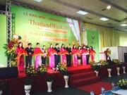 Inauguran feria de productos tailandeses 2015 en Hanoi