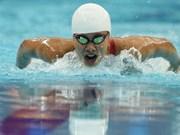 Anh Vien falla medalla en Copa Mundial de natación en París