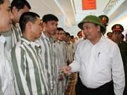 Vicepremier pide prestar atención a reincorporación social de presos