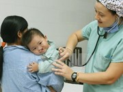 Operación quirúrgica gratuita para niños con defectos faciales