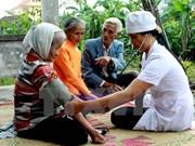 Acciones humanitarias de sudcoreanos en Quang Tri