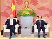 Presidente parlamentario vietnamita elogia avances en lazos con UE