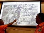 Encuentran segunda caja negra de avión accidentado en Indonesia